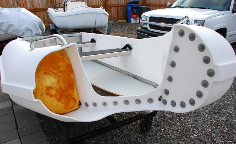 Boat Construction Materials : How to clean aluminum boat lift