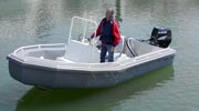 Super Sport Utility 17 feet service fire dive and rescue boat Bullfrog Boats