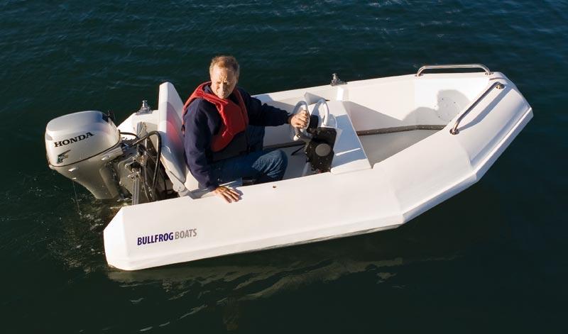 Yacht Tender Dinghy 10 Bullfrog Boats